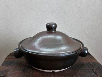 お団子取っ手のお鍋の画像