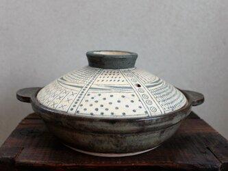 文様鍋の画像