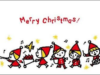 post card(4枚セット) /クリスマスカード2デザインの画像