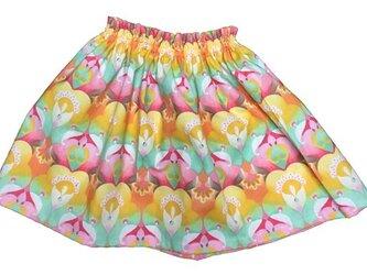 ギャザースカートの画像