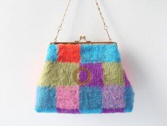 """【角丸 Hand Bag/Pochette】 """"MALHIA KENT""""ふわふわBag/16-KB001の画像"""