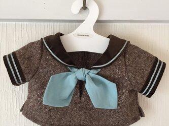 ダッフィーお洋服 冬のセーラーの画像