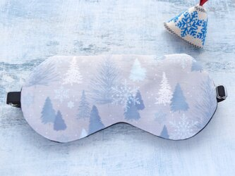winter night  アイマスク/無料ポーチ付/旅行/ギフト/クリスマスの画像