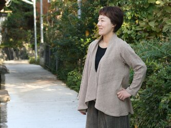 WME羽織りジャケット・ヘンプコットンの画像
