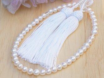 パール念珠 (お念珠入れケース付き)の画像