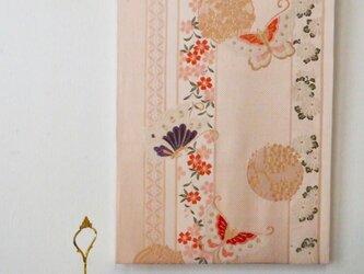 帯deco 縦縞花蝶の画像