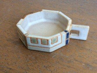 八角形取っ手付き豆皿a(№317)の画像