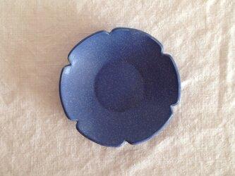 花小皿(ブルーマット)Bの画像