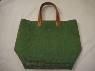 裂き織りバッグ NO 17の画像