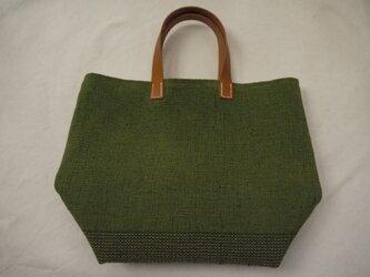 裂き織りバッグ NO18の画像