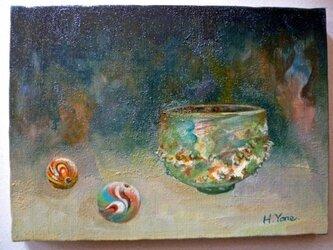 古代ガラスの画像