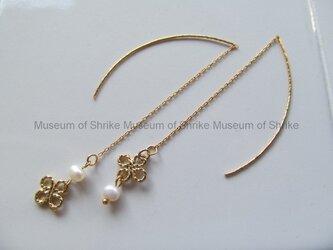 Sweet Water[スイートウォーター]淡水真珠のアメリカンチェーンピアスの画像