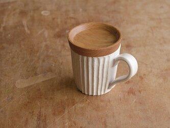 マグカップ / 木の蓋付き No.15の画像