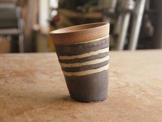 マグカップ / 木の蓋付き No.18の画像