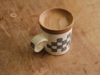 マグカップ / 木の蓋付き No.19の画像