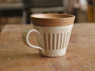 マグカップ / 木の蓋付き No.20の画像