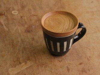マグカップ / 木の蓋付き No.23の画像