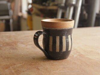 マグカップ / 木の蓋付き No.24の画像
