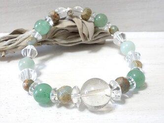 ストレスや疲れを和らげ、心に平穏と余裕を生み出す#09~天然石ブレスレットの画像