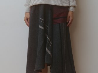 【NEW】chotan skirt wool70 cotton30の画像