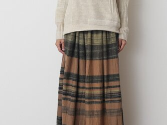 powan skirt LONG wool70の画像