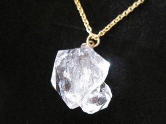 モロッコ産クリスタルの原石ネックレス/Morocco 14kgfの画像