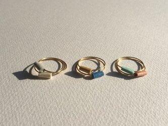 和紙ring <mie ring>の画像