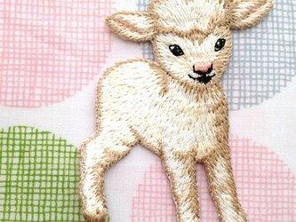 ベビーラム 子羊 右向きW-0171の画像