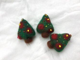 ご確認用 クリスマスツリーブローチの画像