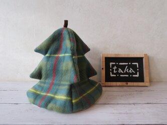 クリスマス・ツリーのティーコゼの画像