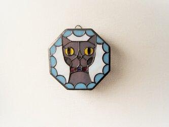 Gさまオーダー品 ネコ壁掛けランプの画像