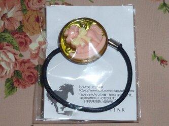 ☆☆ ハンドメイド  ポニーの髪留め 黄色4 ☆☆の画像