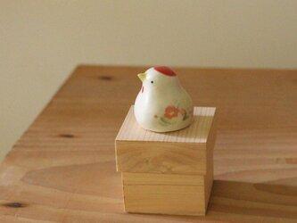 【2017】干支ひよこ・酉 国産ヒノキの木箱入り ※受注制作の画像