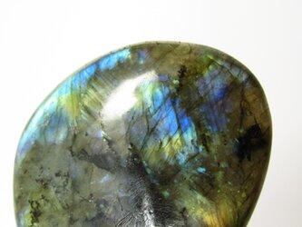 AAA極上シラー ラブラドライト タンブル石の画像