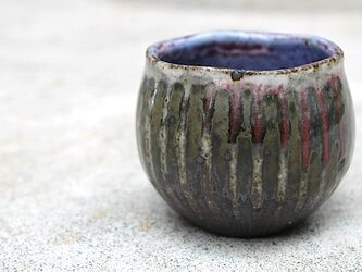 No.14-nhb 野灰彩紅しだれミニカップ(再出品)の画像