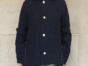 ウールニットジャケットの画像