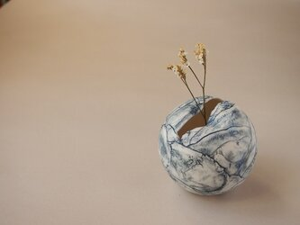 花器 feeling blue ball ①の画像