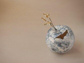 花器 feeling blue ball ②の画像