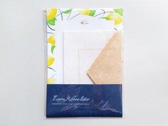Lemon * Ribbon letter setの画像
