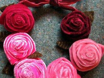 ベロアバラのネックレスの画像