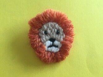 ライオン*ブローチの画像