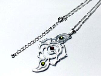 【薔薇の花アクセサリー】ネックレスやチャームに / プレゼントにもおしゃれの画像