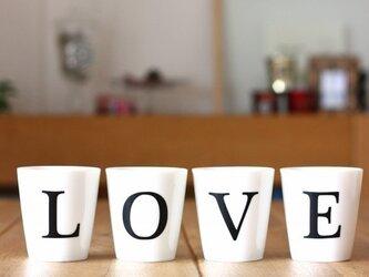 フリーカップ LOVEの画像