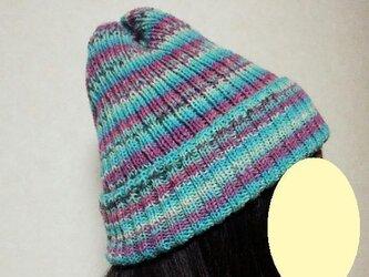 OPAL毛糸 帽子の画像