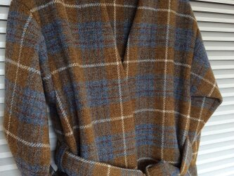 世界で一つだけのジャケット!~ハリスツイードのローブカーディガンの画像