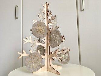 北欧風 カスタマイズ クリスマスツリーオーナメントセットの画像