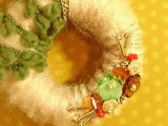 レトロお正月ブローチ*初春輪子の画像