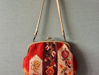 ショルダーバッグ・花模様・の画像