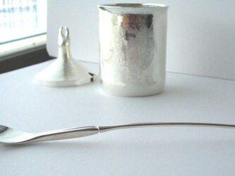 ウサギの帝王◇銀砂糖壺+スプーンの画像