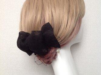 絽のヘアアクセサリーの画像
